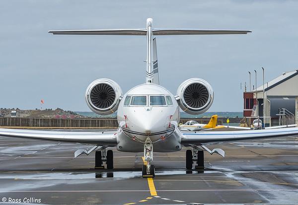 Gulfstream G650ER N758PB at Wellington 2020