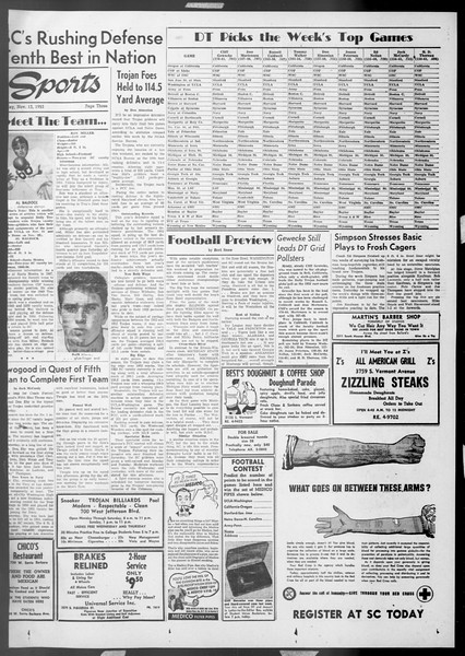 Daily Trojan, Vol. 45, No. 39, November 13, 1953
