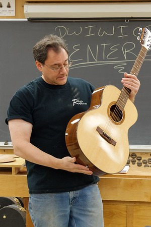 Making an Acoustic Guitar with Ressler [2016]