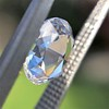 1.51ct Round Rose Cut Diamond, GIA K VS1 4