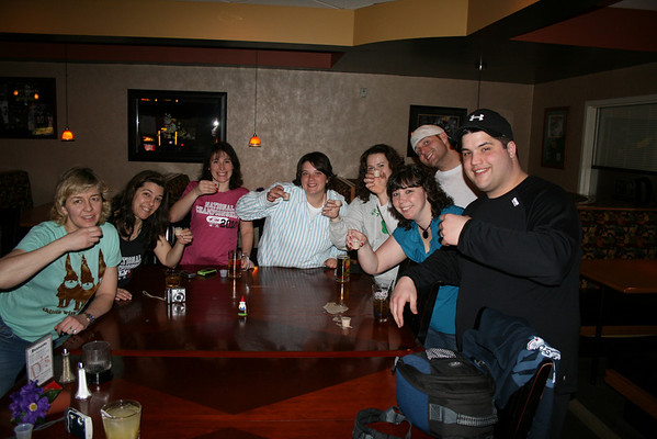 Celebrating in Green Bay - March 2010