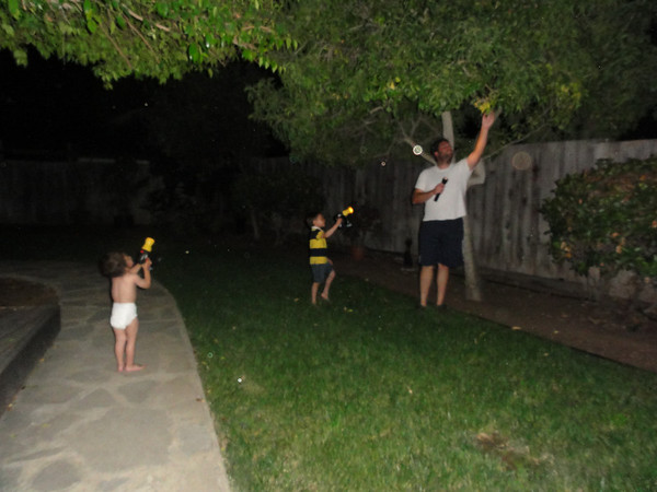 Night Time Adventures at Our House