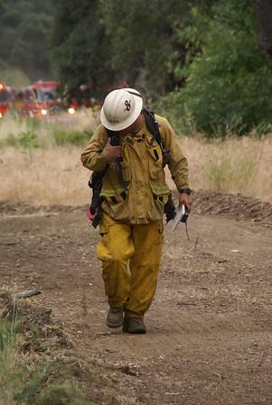 LA County Division II Brush Drill.