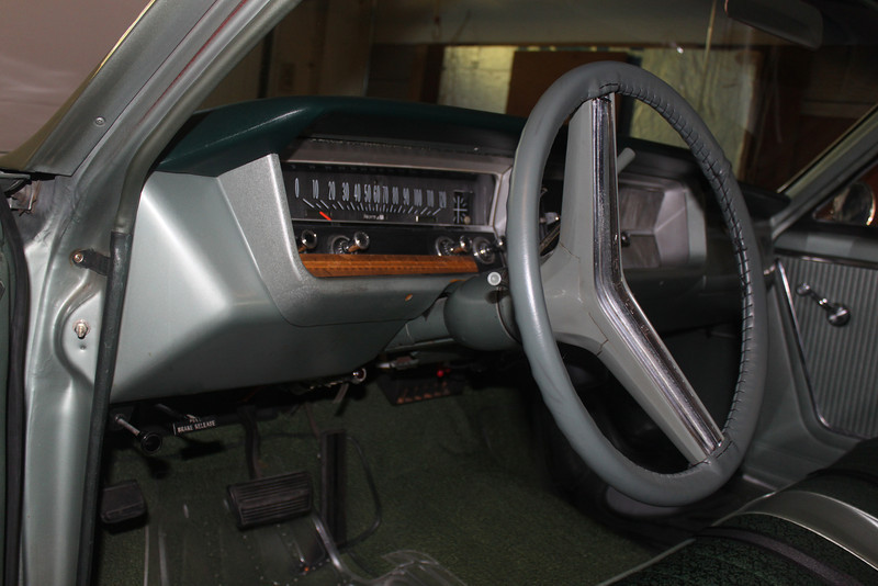 Instrument cluster before modfications - driver's side