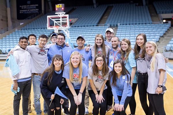 2017 UNIFIED Basketball Duke vs UNC