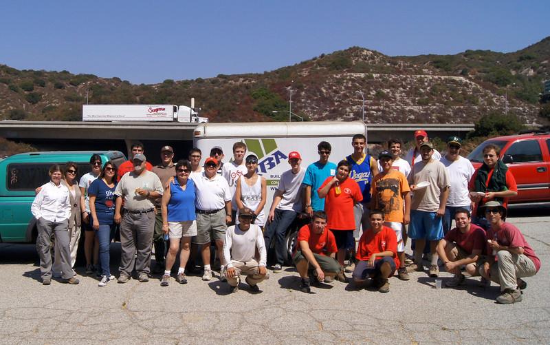 20110911061-Eagle Scout Project, Steven Ayoob, Verdugo Peak.JPG