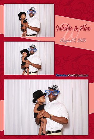 Jaleshia + Alan's Wedding 8-1-2015