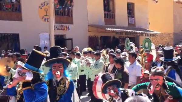 Festivities in Ollantaytambo
