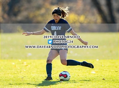 11/13/2019 - Girls Varsity Soccer - NEPSAC Class A Quarter Final - Hotchkiss vs Nobles