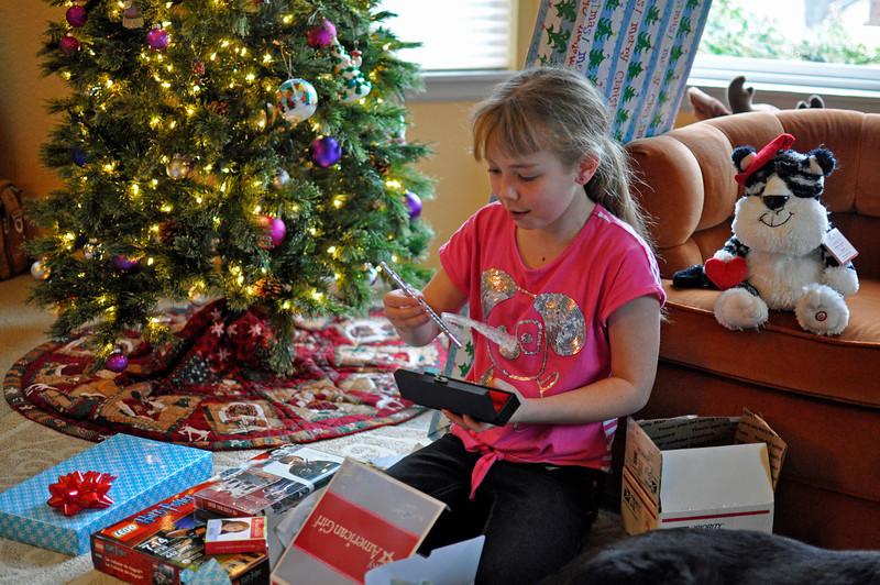 2012 Christmas - flute for American Girl doll