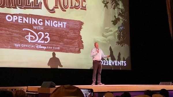 El Capitan Theatre - Jungle Cruise Opening Night