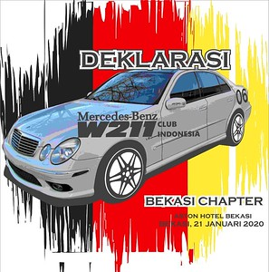 200123 | Deklarasi Mercedes-Benz W211 Club Indonesia Bekasi Chapter