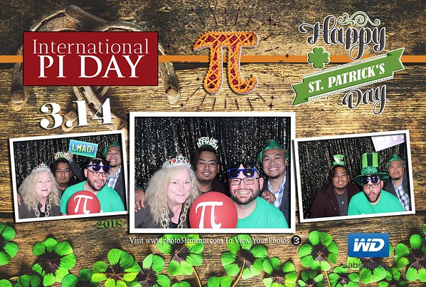 WD St. Patty's and PI Day 2018