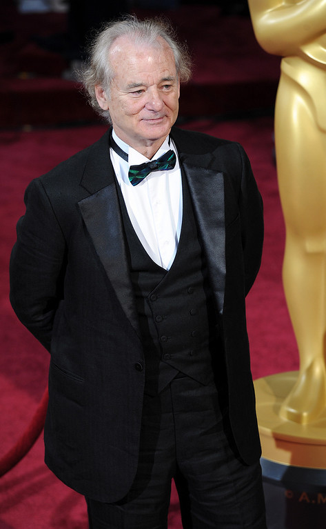 . Bill Murray attends the 86th Academy Awards at the Dolby Theatre in Hollywood, California on Sunday March 2, 2014 (Photo by John McCoy / Los Angeles Daily News)