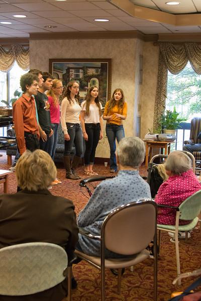 Marak Hayom performance at Revitz House -- Beth El Mitzvah Day, 2014 (Oct 26)