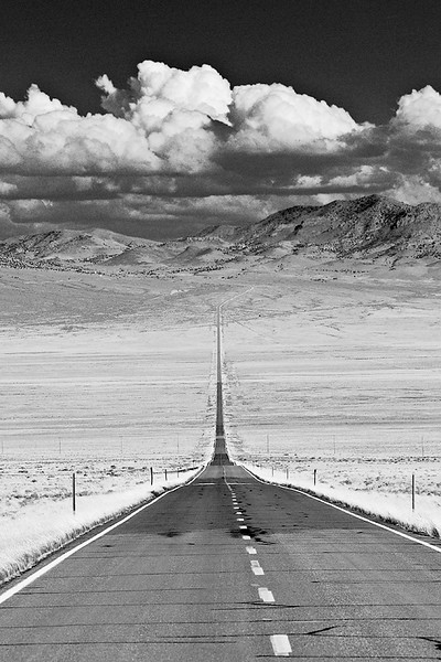 37. 'The Loneliest Road, Highway 50, Nevada', by matthew. 9/16/07, Olympus E-510.