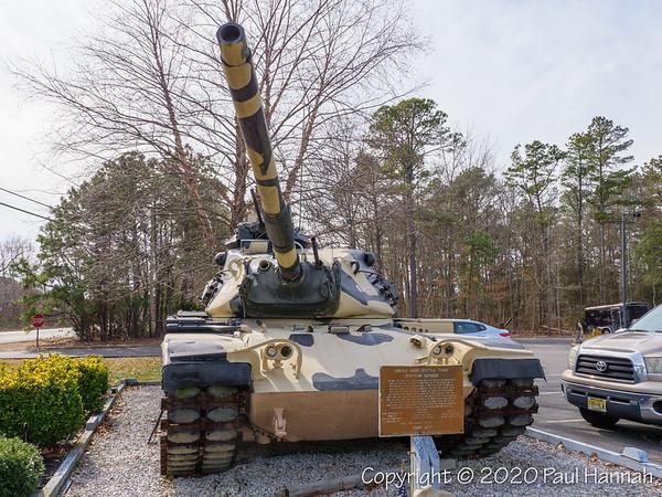 American Legion Post 493, Little Egg Harbor, NJ - M60A3