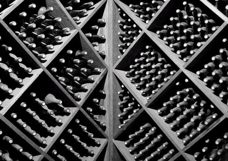 Wine Cellar display, Beringer Vineyards