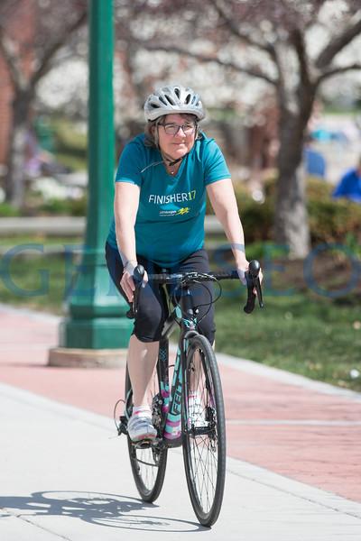 Sue Chichester with Bike (Scene 2018)