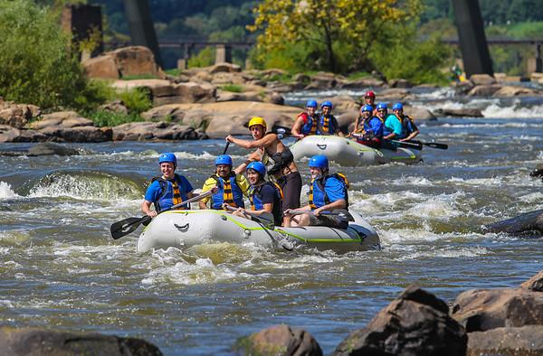 James River 9-6-13 River City Rafting
