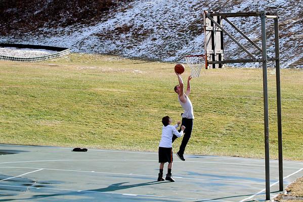 Winter Basketball at Clapp Park-122813