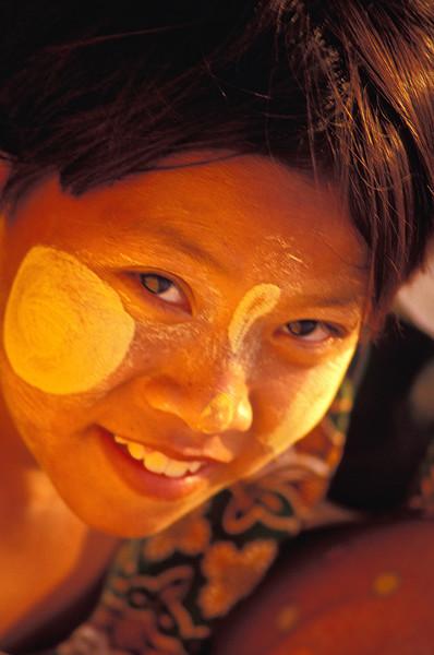 Portrait of Burmese Girl