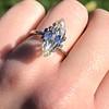 2.86ct Antique Marquise Cut Diamond, GIA N VS1 21