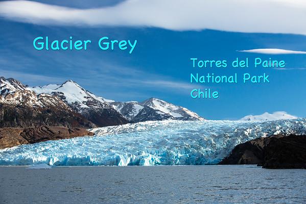 Patagonia's Glacier Grey
