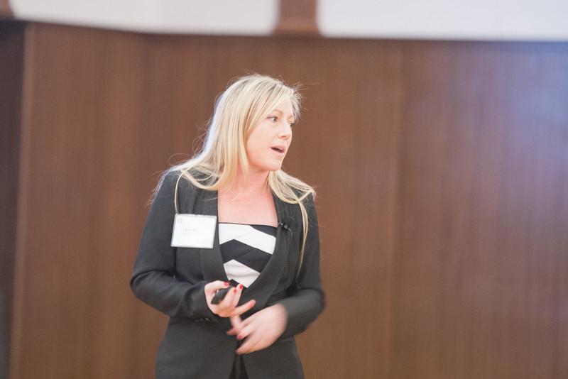 Retail stratigist Lacy Beasley talks to the Edmond Economic Development Authority about trends in retail development.