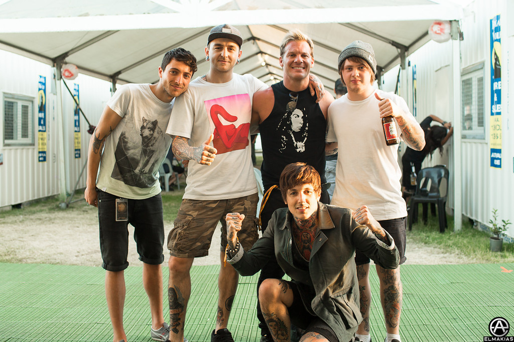 Bring Me The Horizon and Chris Jericho