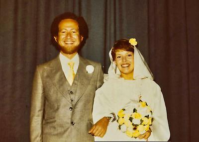 Irene and Ian Wedding 1977 Sept 03