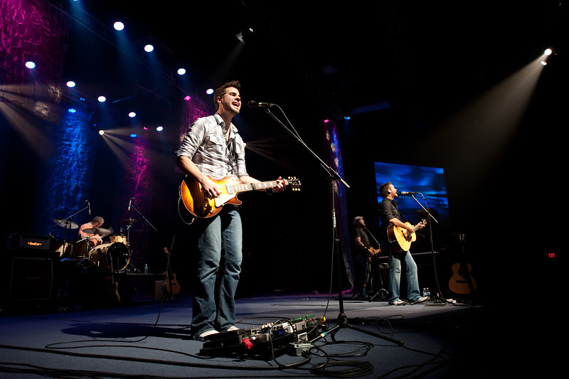 Scotty Murray performs with Aaron Shust on October 11, 2010 at Harborside Church in Safety Harbor, Florida