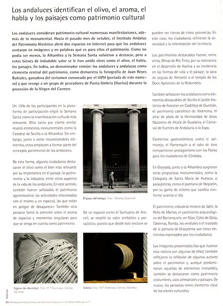 REVISTA IAPH Nº 23. 2010