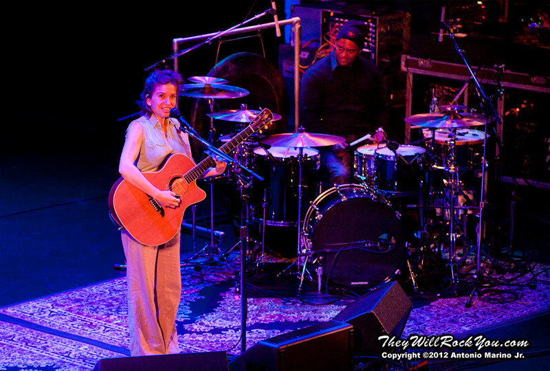Ani DiFranco performs on November 14, 2012 at the Tarrytown Music Hall in Tarrytown, NY