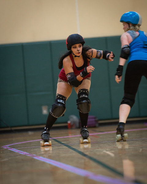Orlando Roller Derby Hellcats vs. Snowbirds Aug 2019