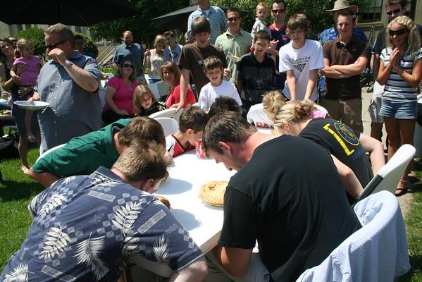 Pie Eating 2008