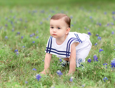 Landon Blue Bonnets*