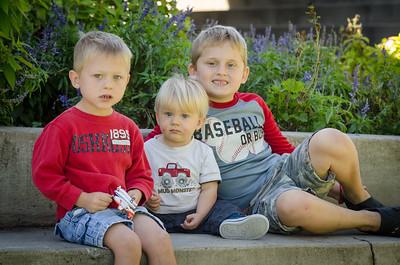 2015-10 - Burk Boys at the Park