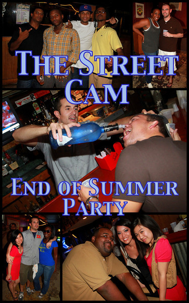 The Street Cam: End of Summer Party