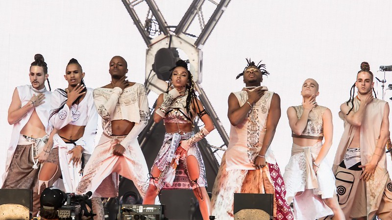 FKA TWIGS AT THE MADE IN AMERICA FESTIVAL