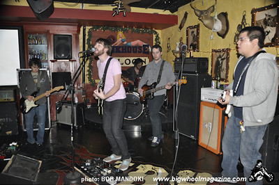 The Dollyrots - IDFI - Dymentya - One Loud Secret - Bee Movie The Band - at The Bunkhouse - Las Vegas, NV - December 12, 2009
