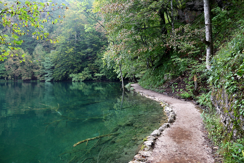 Emerald greens of Plitvice Lakes National Park