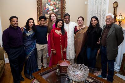 Jhaved & Bindiya's Dinner Party 11/16/17
