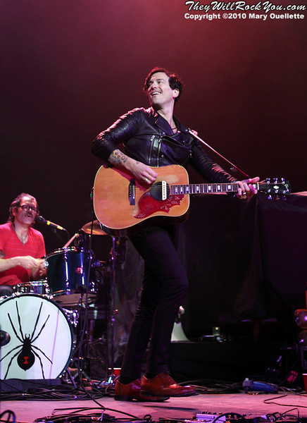 """Butch Walker and The Black Widows Perform in support of """"I Liked It Better When You Had No Heart"""" at The Calvin Theater on March 14, 2010 in Northampton, Massachusetts"""