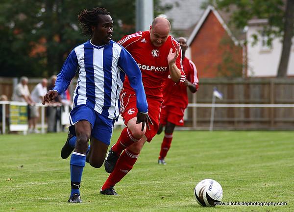 Brockenhurst 4 Crowborough Athletic 1  FA Vase 4/9/10