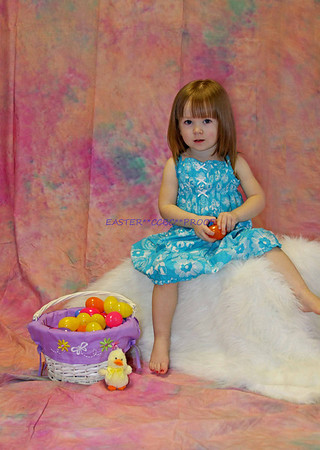Ava's Easter Portraits