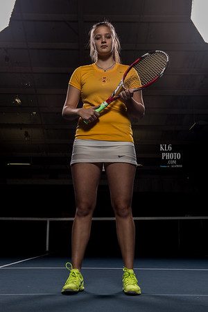 ISU Tennis poster shoot 12/01/15