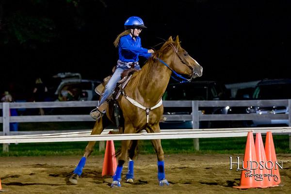 13. Raised Box Keyhole Horse  Sr. Rider