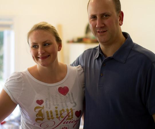 Gary and Carolyn's Visit