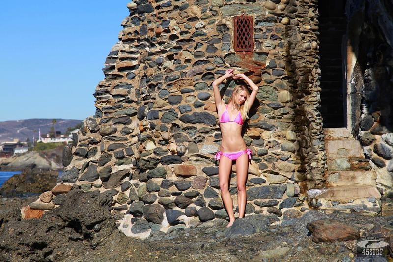 Canon 5D Mark II photos of Beautiful Blonde Swimsuit Bikini Model Goddess